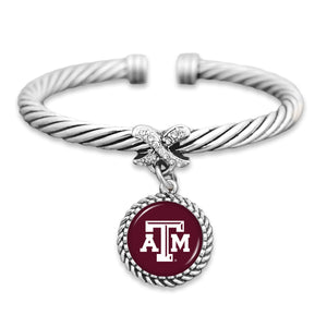 Texas A&M Aggies Bangle Cuff Bracelet