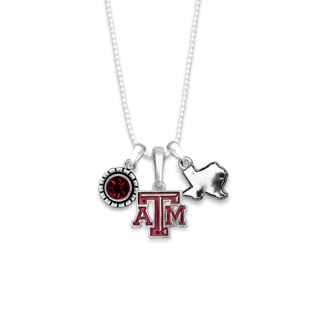 Texas A&M Aggies Home Sweet School Necklace
