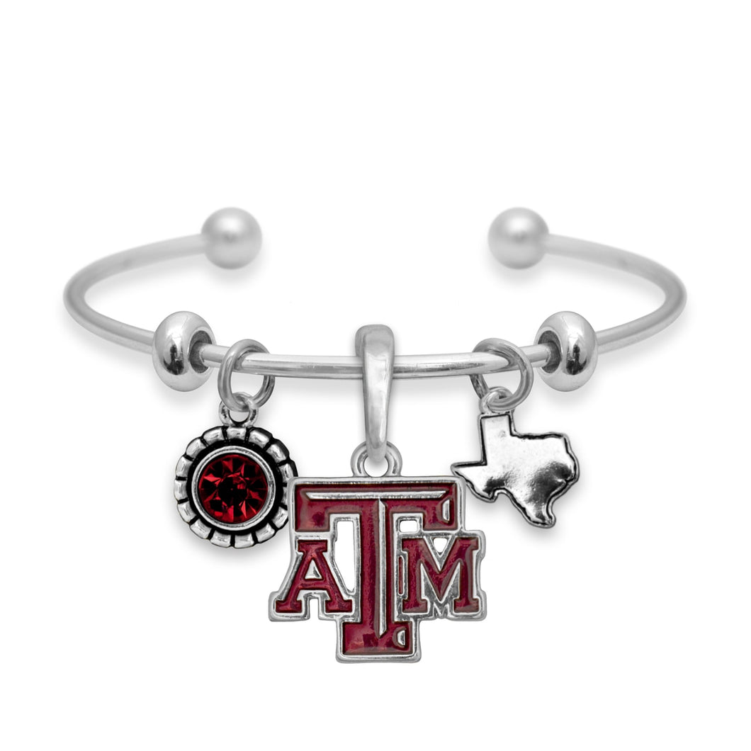 Texas A&M Aggies Home Sweet School Bracelet