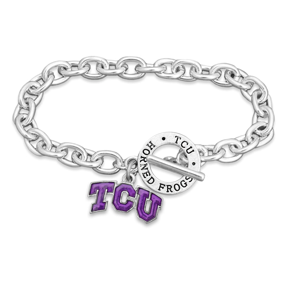 Georgia Bulldogs Bracelet- Audrey Toggle