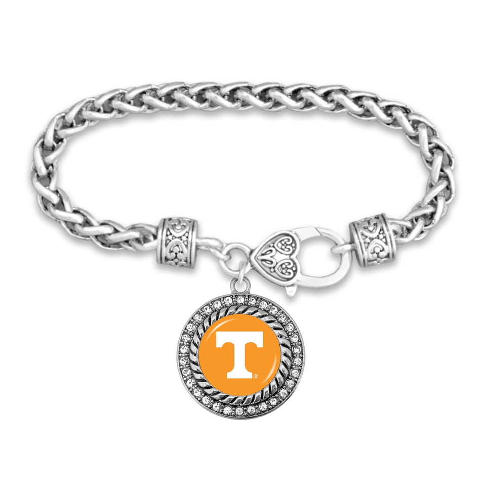 Tennessee Volunteers Clasp Bracelet- Allie