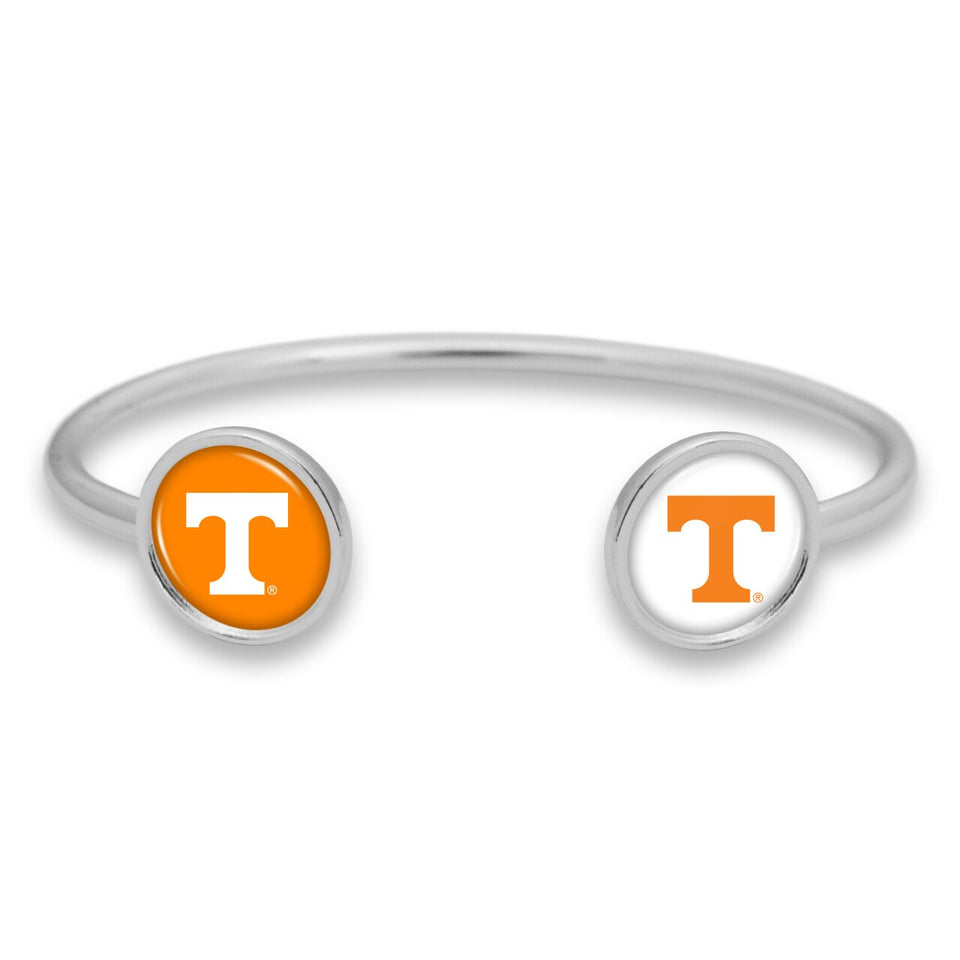Tennessee Volunteers Duo Dome Cuff Bracelet