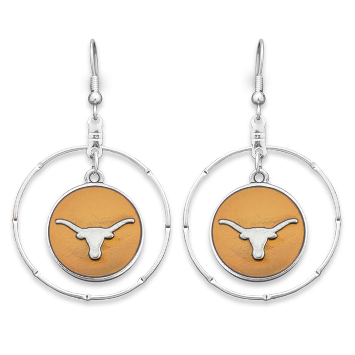 Texas Longhorns Campus Chic Earrings