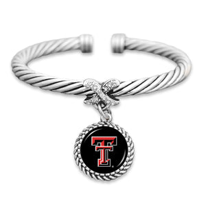 Texas Tech Raiders Bangle Cuff Bracelet