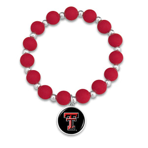 Texas Tech Raiders Leah Bracelet
