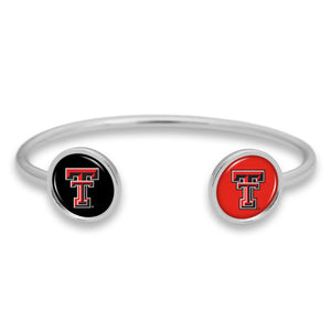 Texas Tech Raiders Duo Dome Cuff Bracelet