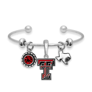 Texas Tech Raiders Home Sweet School Bracelet