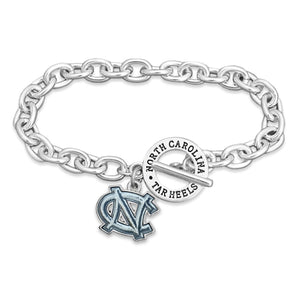 North Carolina Tar Heels Bracelet- Audrey Toggle
