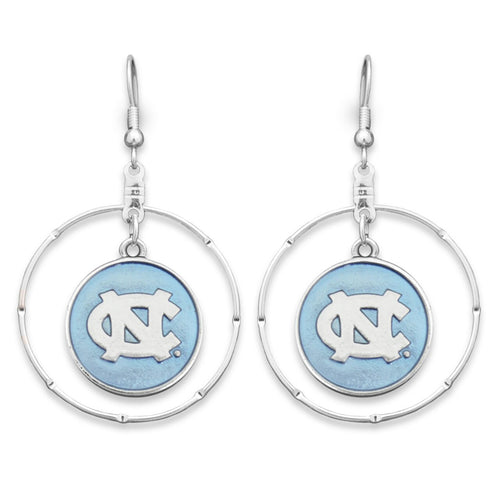 North Carolina Tar Heels Campus Chic Earrings