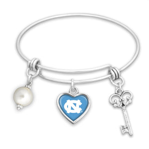 North Carolina Tar Heels Pearl Bracelet