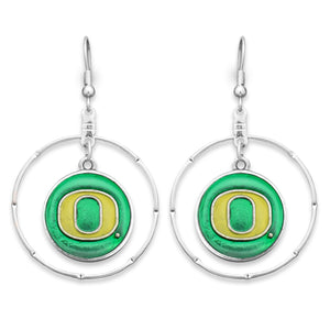 Oregon Ducks Campus Chic Earrings