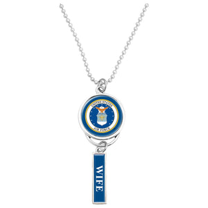 U.S. Air Force Seal Car Charm for Wife