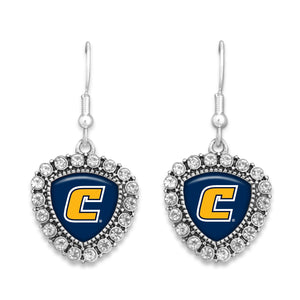 Chattanooga (Tennessee) Mocs Brooke Crystal Earrings