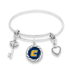 Chattanooga (Tennessee) Mocs Twisted Rope Bracelet