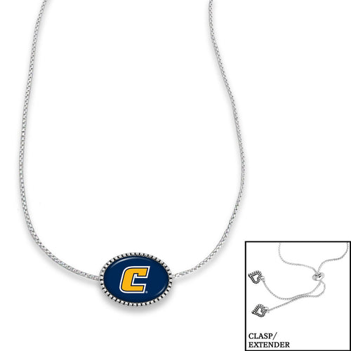 Chattanooga (Tennessee) Mocs Adjustable Slider Bead Necklace