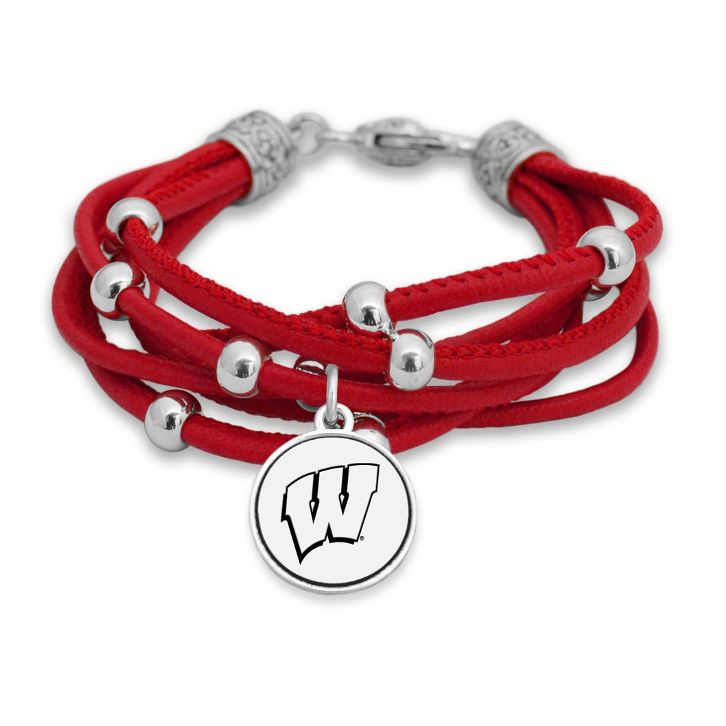 Wisconsin Badgers Lindy Bracelet