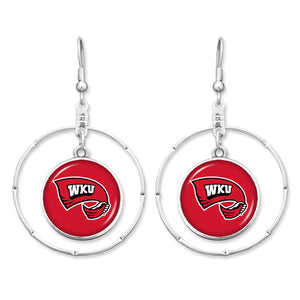 Western Kentucky Hilltoppers Campus Chic Earrings