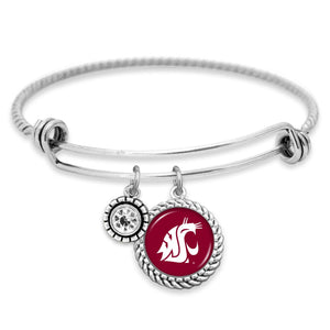 Washington State Cougars Olivia Bracelet