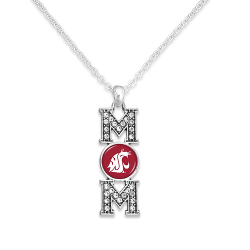 Washington State Cougars MOM Necklace