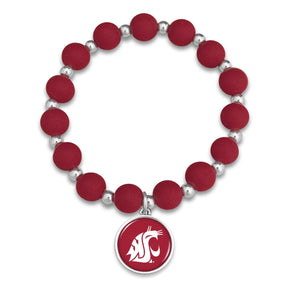 Washington State Cougars Leah Bracelet