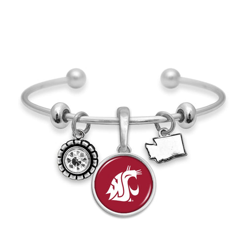 Washington State Cougars Home Sweet School Bracelet