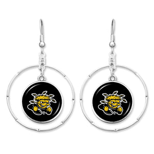Wichita State Shockers Campus Chic Earrings