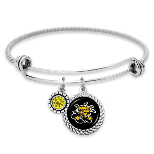 Wichita State Shockers Olivia Bracelet