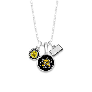 Wichita State Shockers Home Sweet School Necklace