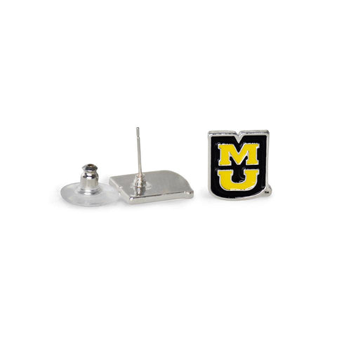 University of Missouri Tigers Post Earrings