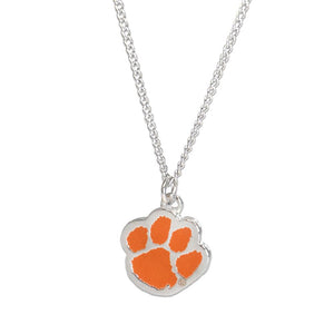 Clemson Tigers Fan Necklace
