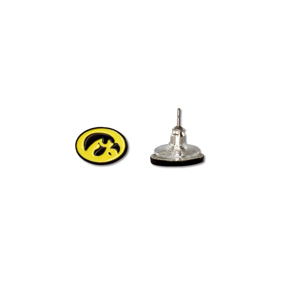 Iowa Hawkeyes Post Earrings