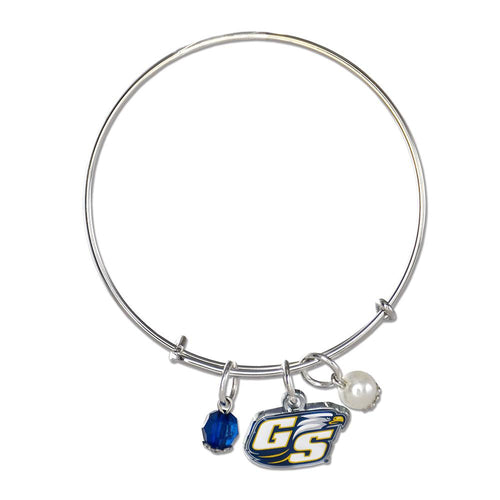 Georgia Southern University Eagles Silver Bangle Bracelet