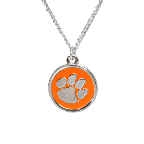 Clemson Tigers Cutout Necklace