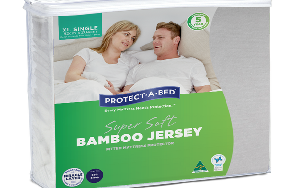 Bamboo mattress protector Long Single available in all sizes - Customisable