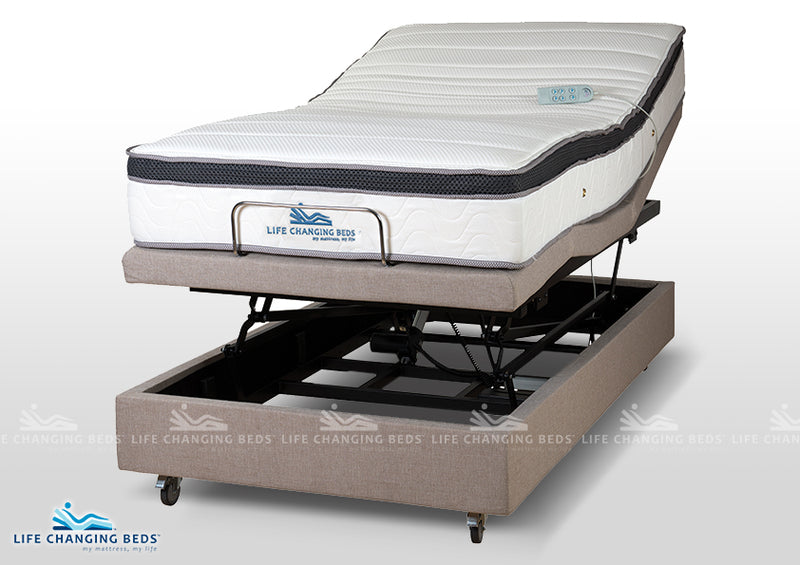 King Single Medi Sleep 11 Hi-Lo Bed Base