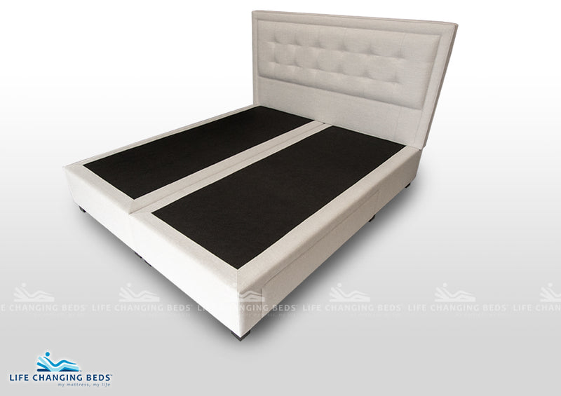 King Size Jarden Headboard with Norton Storage Base. Customisable model