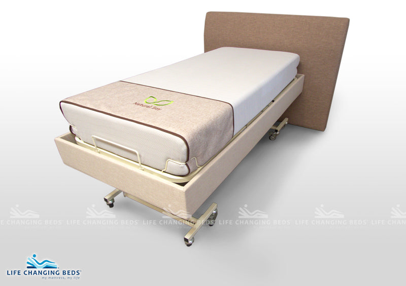 Medi Sleep MK 3 Long Single Bed Base (Customisable Fabric)