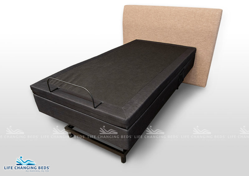 King Single Medi Sleep MK 8 Hi-Lo Bed Base with Massage available in all sizes