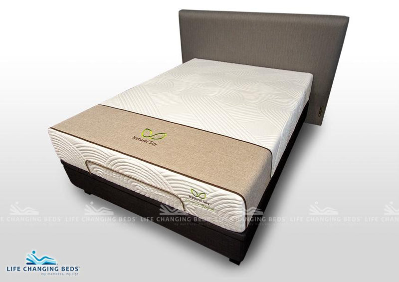 Queen Size Natural Soy Madrid Mattress - Customisable model