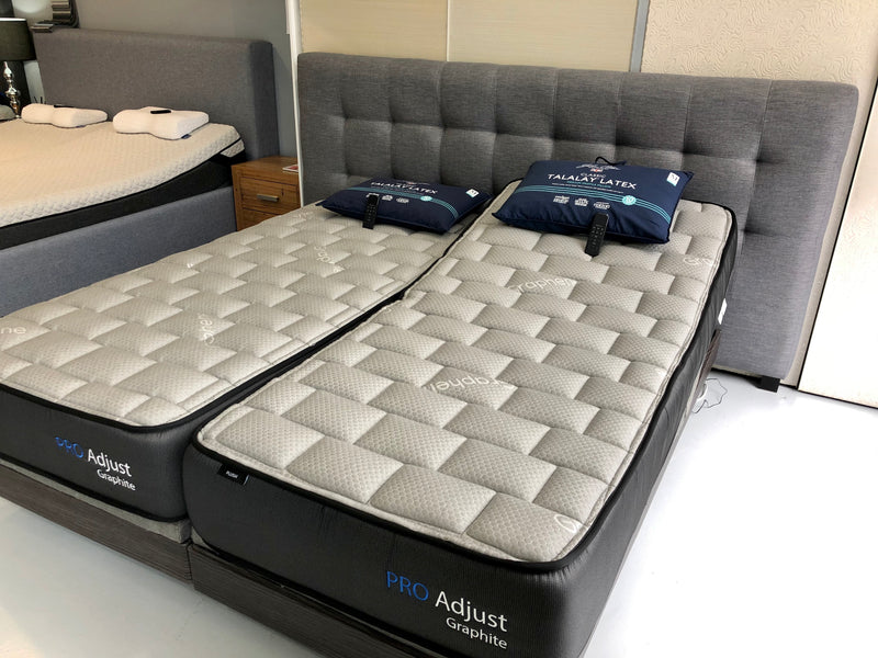 Split King Size Pro-Adjust Mattress (With Graphite)