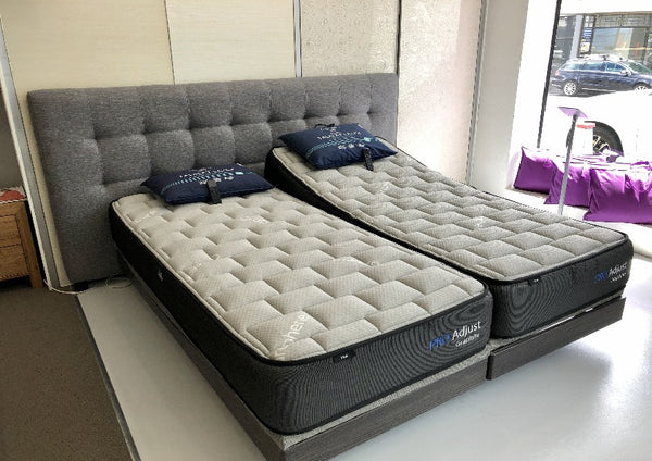 Split King Size Pro-Adjust Mattresses now with Graphite