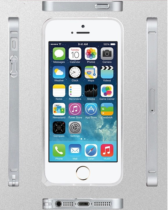 New Aluminium Bumper for iPhone 5 / 5S - 0.7mm only - iRepair India™ - 1