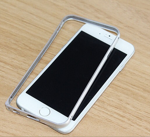 "Aluminium Arc Circle Metal Bumper for iPhone 6 - 4.7"" and iPhone 6 Plus - 5.5"" . - iRepair India™ - 1"