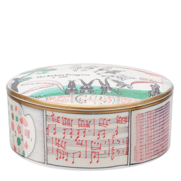 Drop Curtain trinket box by David Hockney