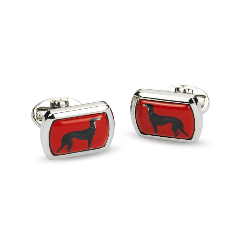 Eos Rectangular Palladium Cufflinks