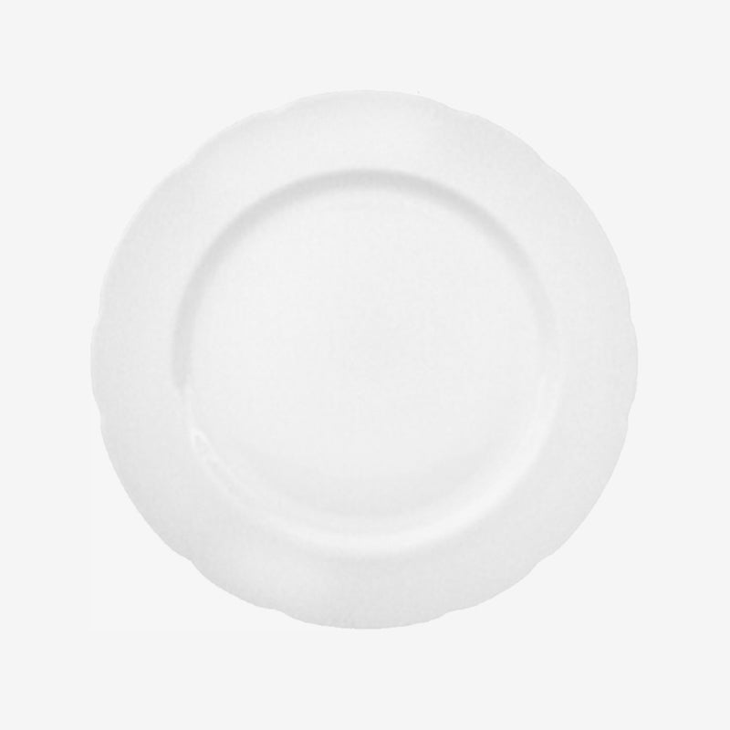 "Audley White 8"" Plate"