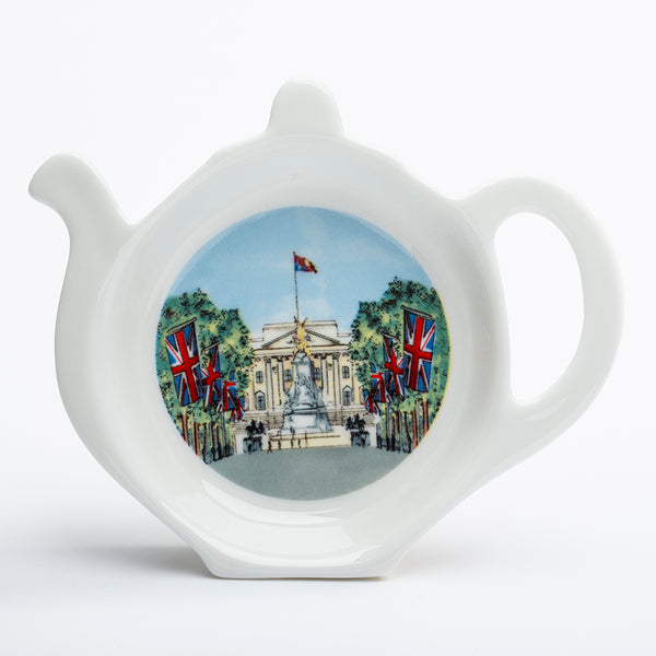 Buckhingham Palace from the Mall Tea Bag Tidy