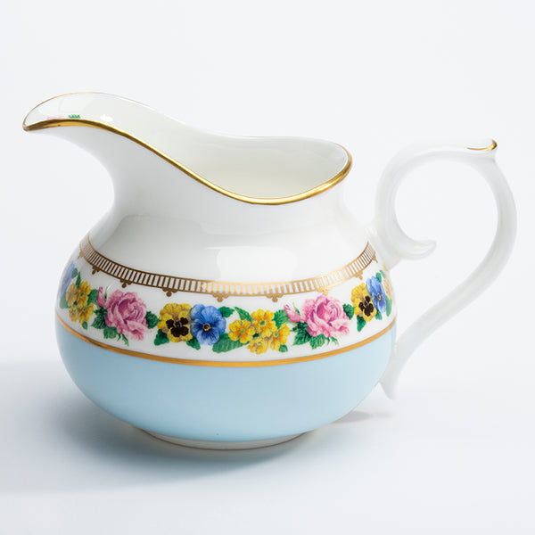 Shell Garden Cream Jug