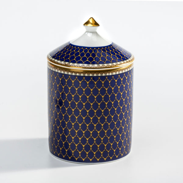 Antler Trellis Midnight Lidded Candle