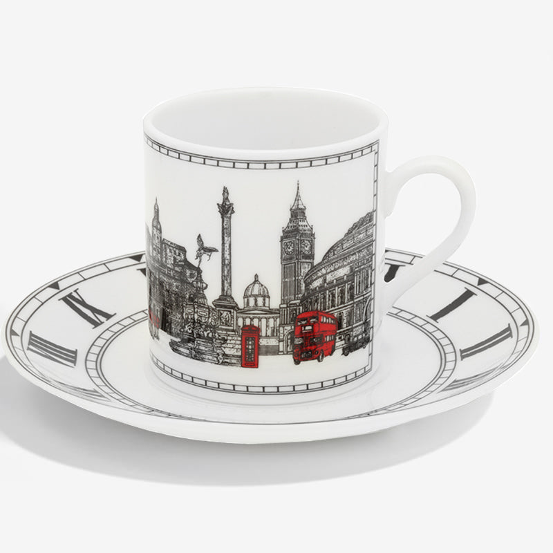 London Icons Coffee Cup & Saucer
